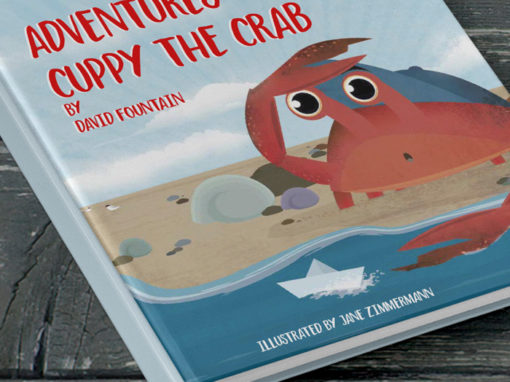 'Cuppy the Crab' – Children's Book